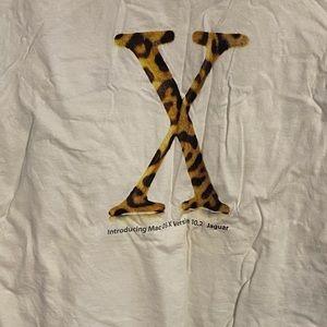 Other - Apple Mac OS X 10.2 Jaguar shirt XL